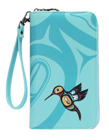 Hummingbird Travel Wallet