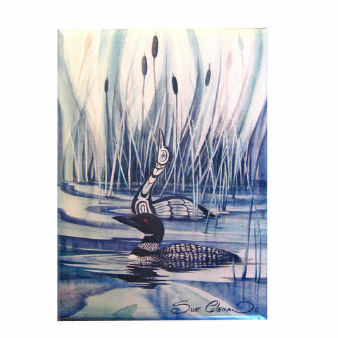 Loon by Sue Coleman Magnet