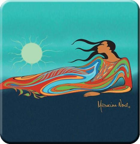 Mother Earth by Maxine Noel Coasters