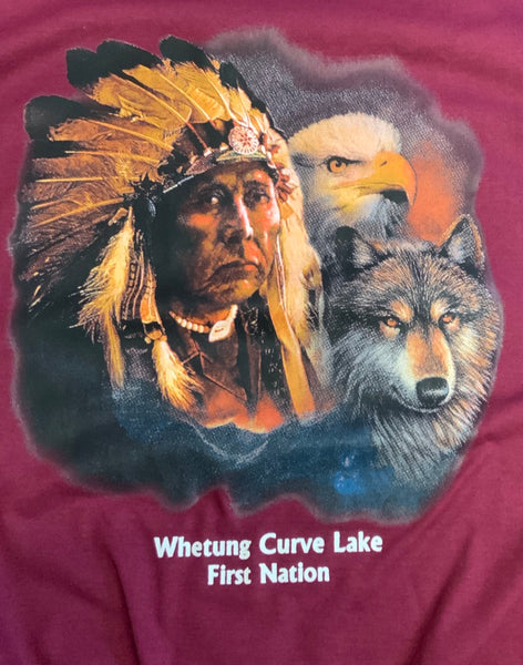 Wolf Chief and Moon T-Shirt