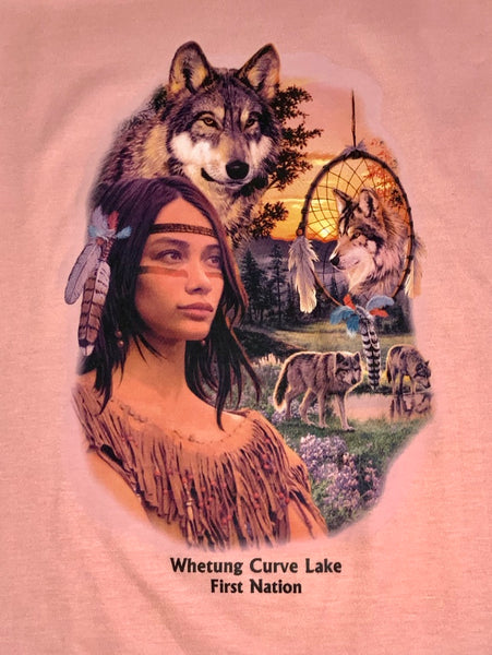 Wolf and Dreamcatcher T-Shirt