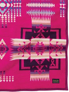 Chief Joseph Limited Edition Breast Cancer Blanket by Pendleton