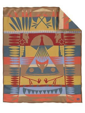 Coyote Tale Blanket by Pendleton