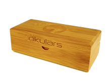 Okulars® Dark Bamboo • Clear