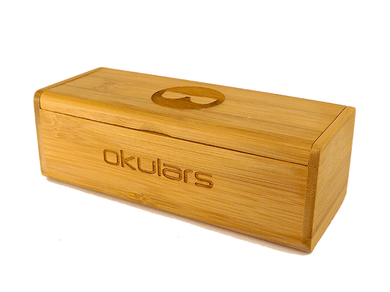 Okulars® Outline • Bamboo Case