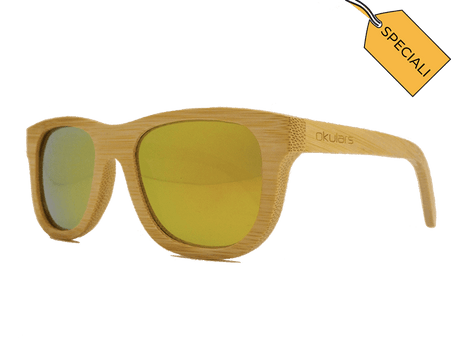 *Speciali* Okulars® Natural Bamboo • Yellowish
