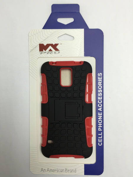 Samsung Galaxy S5 HD Armour Case RED