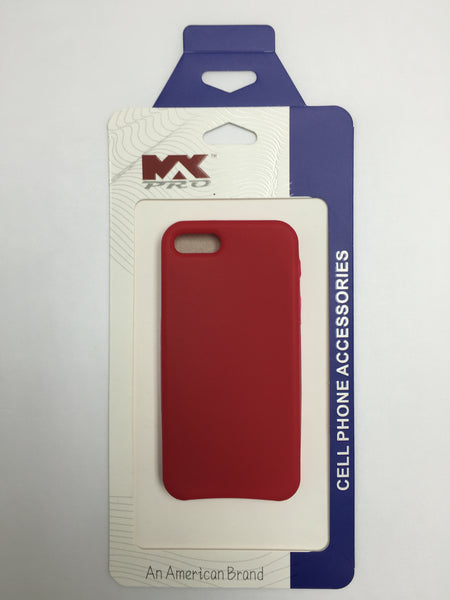 iPHONE 5 Silicon Case RED
