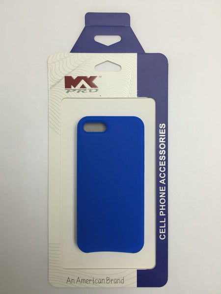iPHONE 5 Silicon Case BLUE