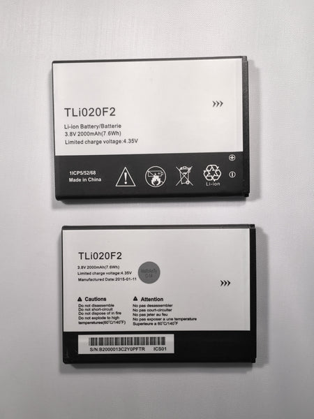 Alcatel One Touch 7040T Fierce 2 TLi020F2 Battery