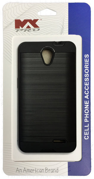 ZTE Avid Plus Metallic Color Case BLACK