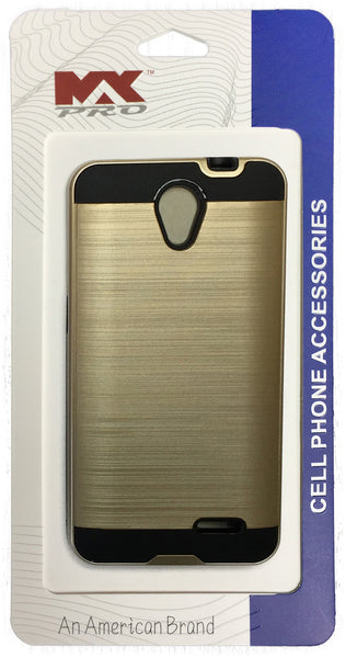 ZTE Avid Plus Metallic Color Case GOLD
