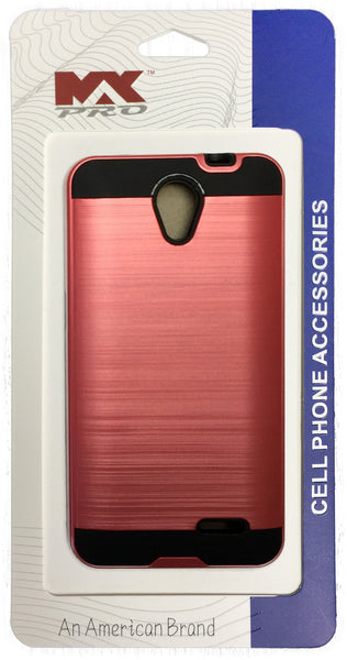ZTE Avid Plus Metallic Color Case PINK