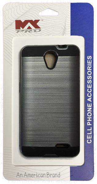 ZTE Avid Plus Metallic Color Case GRAY