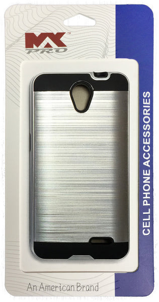 ZTE Avid Plus Metallic Color Case SILVER