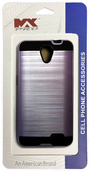 ZTE Avid Plus Metallic Color Case PURPLE