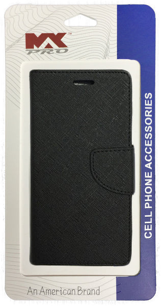 Kyocera Hydro Wave Wallet Case BLACK