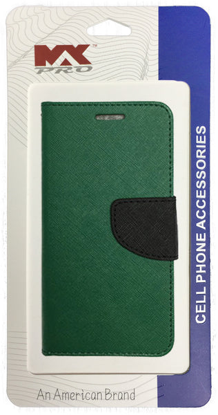 ZTE Obsidian Wallet Case PURPLE GREEN