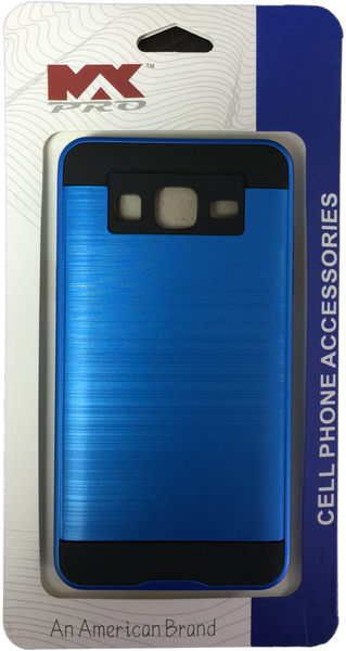 Samsung Galaxy ON5 Metallic Finished Case BLUE