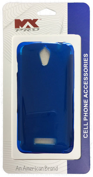 ZTE Obsidian TPU Case Clear BLUE