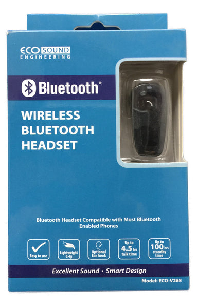 Wireless Bluetooth Headset (Ecosound)