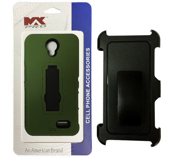 Holster Combo ZTE Avid Plus GREEN