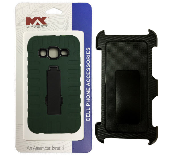 Holster Combo Samsung Core Prime GREEN