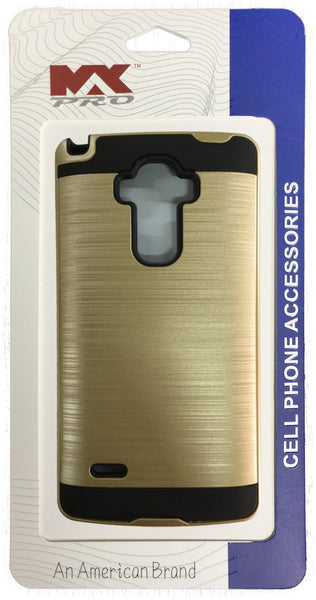 LG G Stylo Electroplating Metallic Color Case (GOLD)