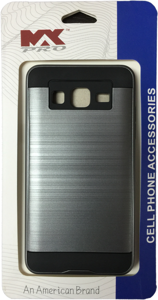 Samsung Galaxy ON5 Metallic Finished Case GRAY