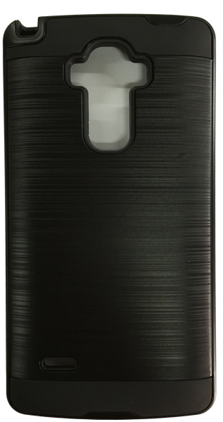 LG G Stylo Electroplating Metallic Color Case (BLACK)
