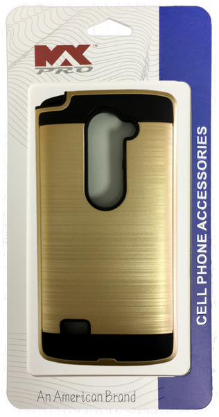 LG Leon Electroplating Metallic Color Case (GOLD)