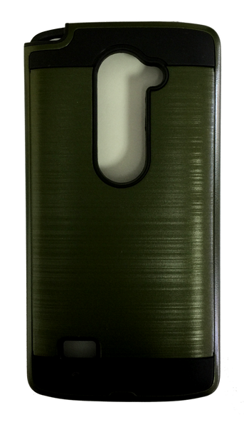 LG Leon Electroplating Metallic Color Case (GREEN)