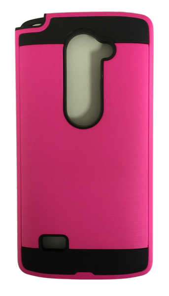 LG Leon Electroplating Metallic Color Case (PINK)