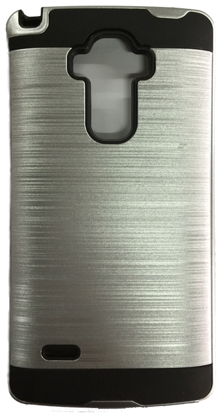 LG G Stylo Electroplating Metallic Color Case (SILVER)