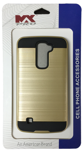 LG K10 Electroplating Metallic Case GOLD