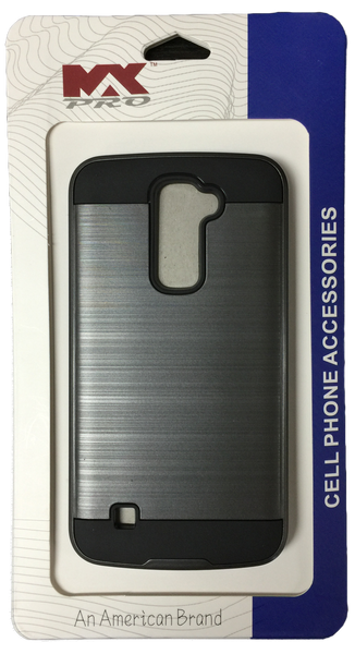 LG K10 Electroplating Metallic Case GRAY
