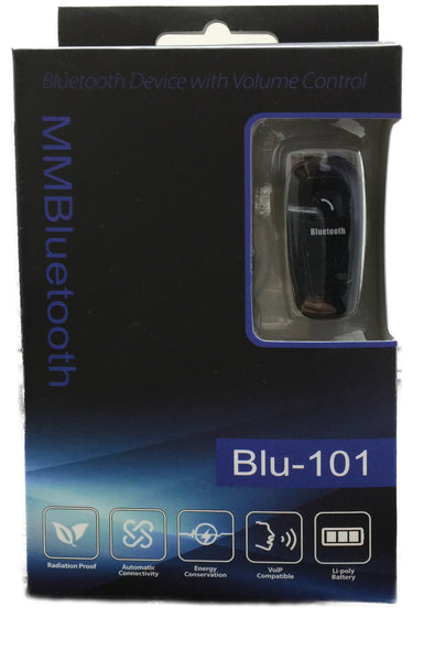 Wireless Bluetooth Headset (MMBluetooth Blu-101)