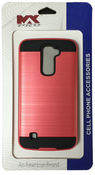 LG K10 Electroplating Metallic Case PINK