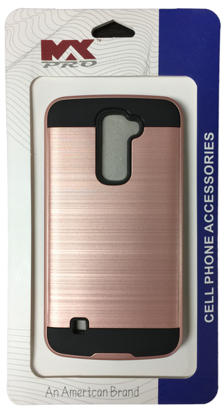 LG K10 Electroplating Metallic Case ROSE GOLD