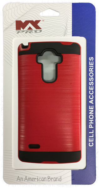 LG G Stylo Electroplating Metallic Color Case (RED)