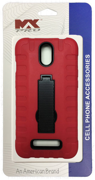 ZTE Obsidian Robot Grip Case RED