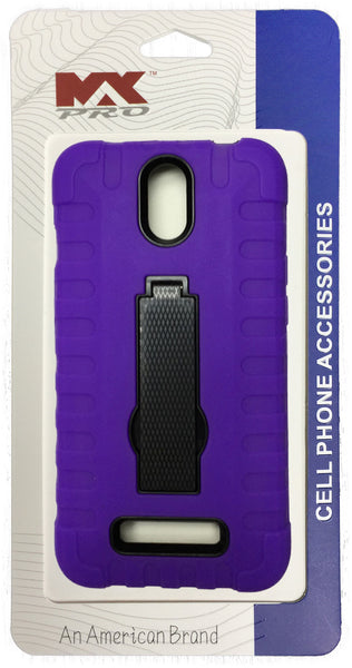 ZTE Obsidian Robot Grip Case PURPLE