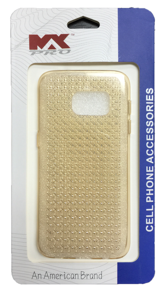 Samsung Galaxy S7 Diamond TPU - GOLD