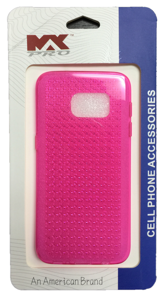Samsung Galaxy S7 Diamond TPU - HOT PINK