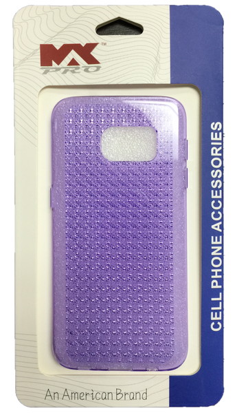 Samsung Galaxy S7 Diamond TPU - PURPLE