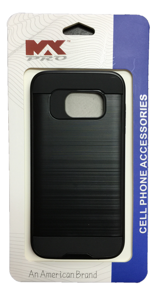 Samsung Galaxy S7 Metallic Color Case BLACK