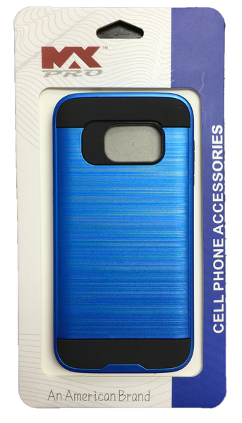 Samsung Galaxy S7 Metallic Color Case BLUE