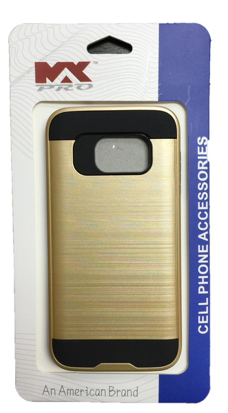 Samsung Galaxy S7 Metallic Color Case GOLD