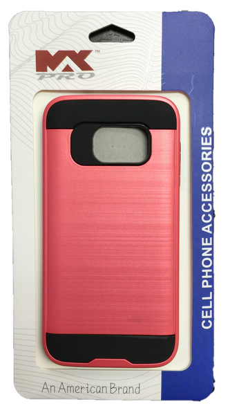 Samsung Galaxy S7 Metallic Color Case PINK