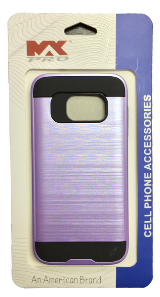 Samsung Galaxy S7 Metallic Color Case PURPLE